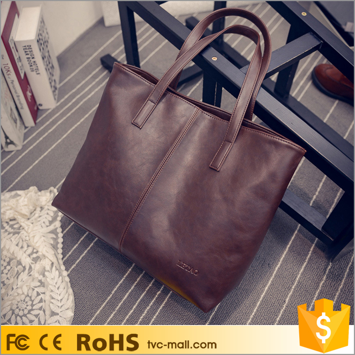 Shenzhen Fashion Ladies PU Leather Tote Shoulder Handbag Bag