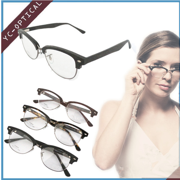 New Reading Glasses Classic Style Acetate Wooden Reading Glasses Seller 2016