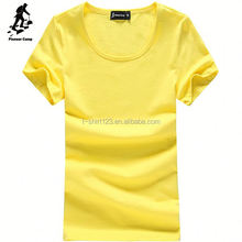 China factory wholesale popular custom printed women t shirt in good quality