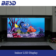 Good Quality Indoor Full Color P6 LED Wall, P6 indoor screen for stage rental use 3D video curved display