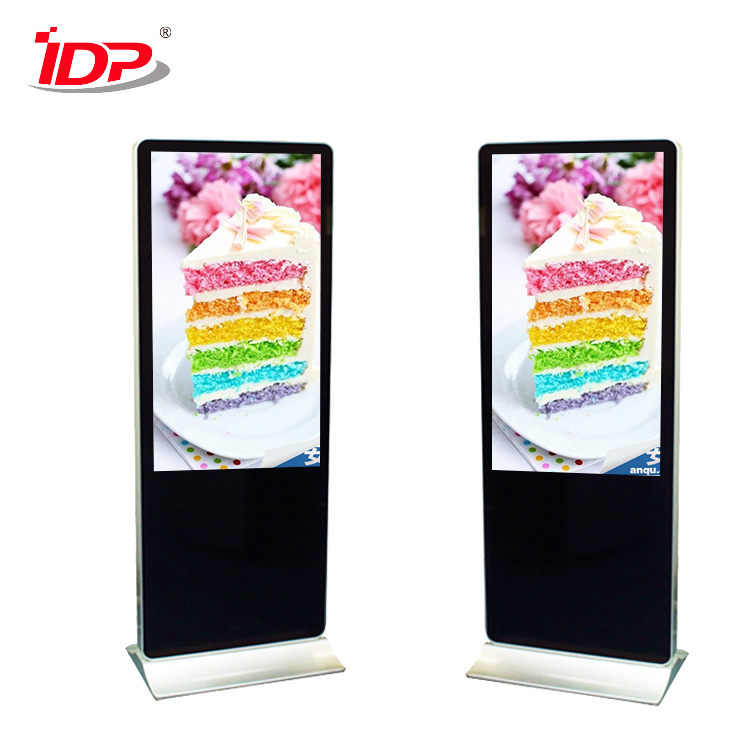 Public Free standing commercial advertising lcd tv drop shipping