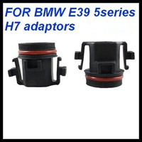 H7 HID bulb adapters holders xenon lamp base for BMW E39 5 Series H7 xenon headlight bulbs