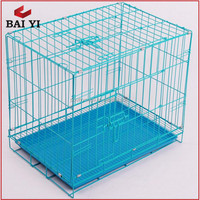 Wire Folding Pet Crate Dog Cage For Indonesia and Philippines Market