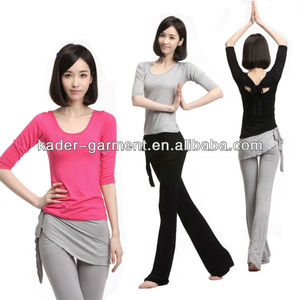 Guangdong Yoga Lady Clothing Active Wear Sport Suit