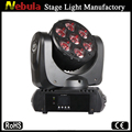 7*15w LED RGBW 4in1 Beam Moving Head Light
