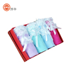 2018 High quality fashion towel packaging box with ribbon