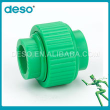 Hot Sale High quality ppr pipe union/male/female threaded union pipe fittings