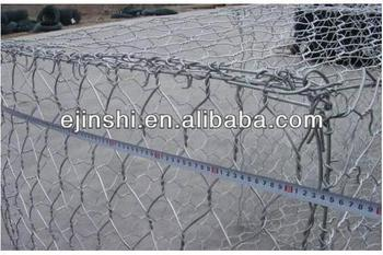 Best quality and price 3x1x1m gabion baskets box walls wire mesh for stone