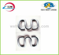 Butterfly rail clip spring tension for railway