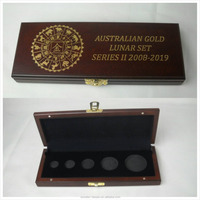 Worth memorial coin/gift wooden box