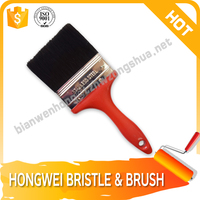 Mixed PP synthetic fiber and Bristle Paint brush