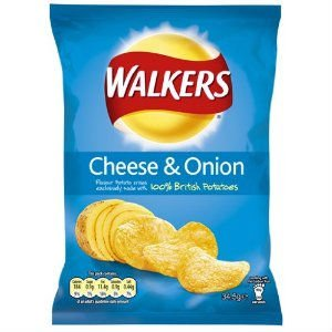 Walkers Crisp - Cheese & Onion - UK Made & Packed
