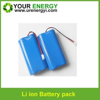 3.2v li-ion emergency light battery 1s2p 14430 3.2v lifepo4 battery 1000mah