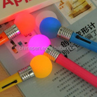 New year gift invisible marker pen with bulb light