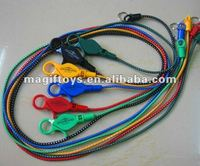 "25""Claw Lobster Lanyard with Split Ring/Casino Bungee Cord Lanyard"