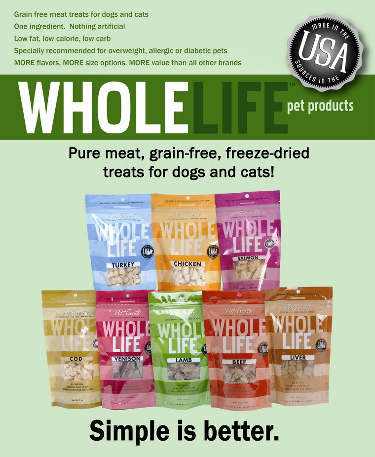 Wholelife Freeze Dried Pet Treats