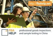 professional amazon goods inspections and sample testing in china