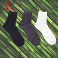 China socks factory wellness breathable men 100% black bamboo socks