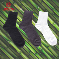 china socks factory wellness breathable men socks black 100% bamboo socks