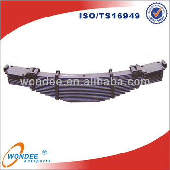 China WONDEE Conventional Heavy Duty Boogie Leaf Spring