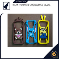 Rabbit crown bear Universal Bumper Silicone Case for mobile phone