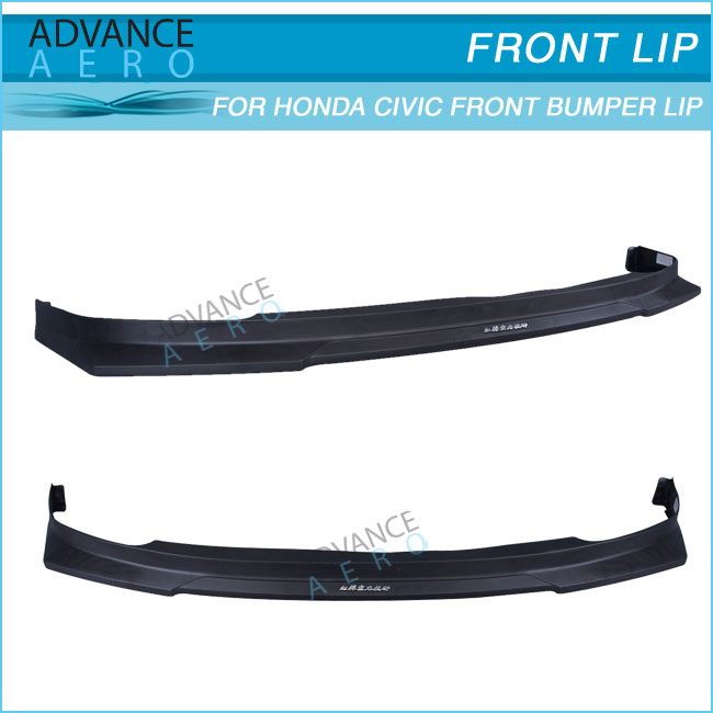 POLY PROPYLENE HC1 STYLE PP FRONT LIPS FOR 1996 1997 1998 HONDA CIVIC AUTO PARTS