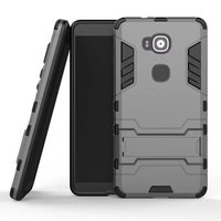 2 In 1 Hot Selling Iron-Bear Hybrid Rugged Hybrid Cell Phone Case For Huawei G7 Plus