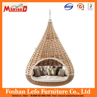 Good Quality Nestrest Rattan/wicker hanging bed Made in China