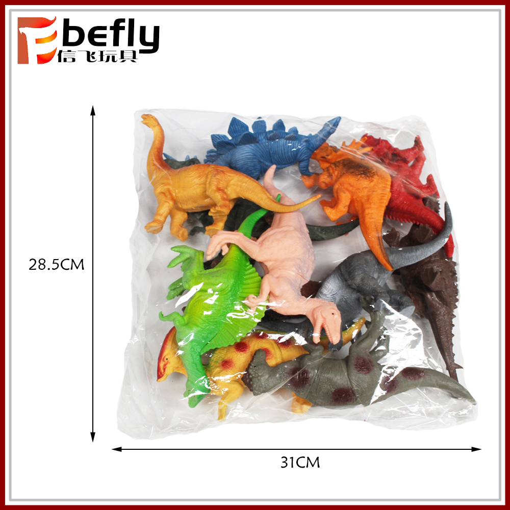 Kids educational gift assorted dinosaur toy figures for collection