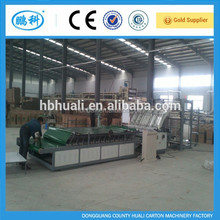 Huali export BZJ-14500m Full Automatic Flute Laminating Machine for lamination paperboard