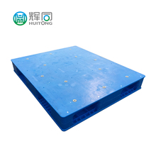 Flat Top Single Side Stacking Smooth Deck Plastic Pallets