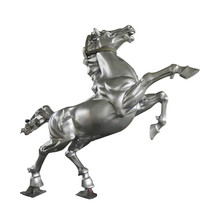 Outdoor Modern Large High Quality Casting Copper Bronze/ stainless steel Horse Sculptures for Garden Decoration