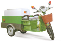 Green Energy low price Electric Powerful Cleaning Garbage tricycle