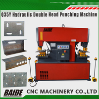 Q35Y Double Cylinder Hydraulic Ironworker for Metal Shearing and punching