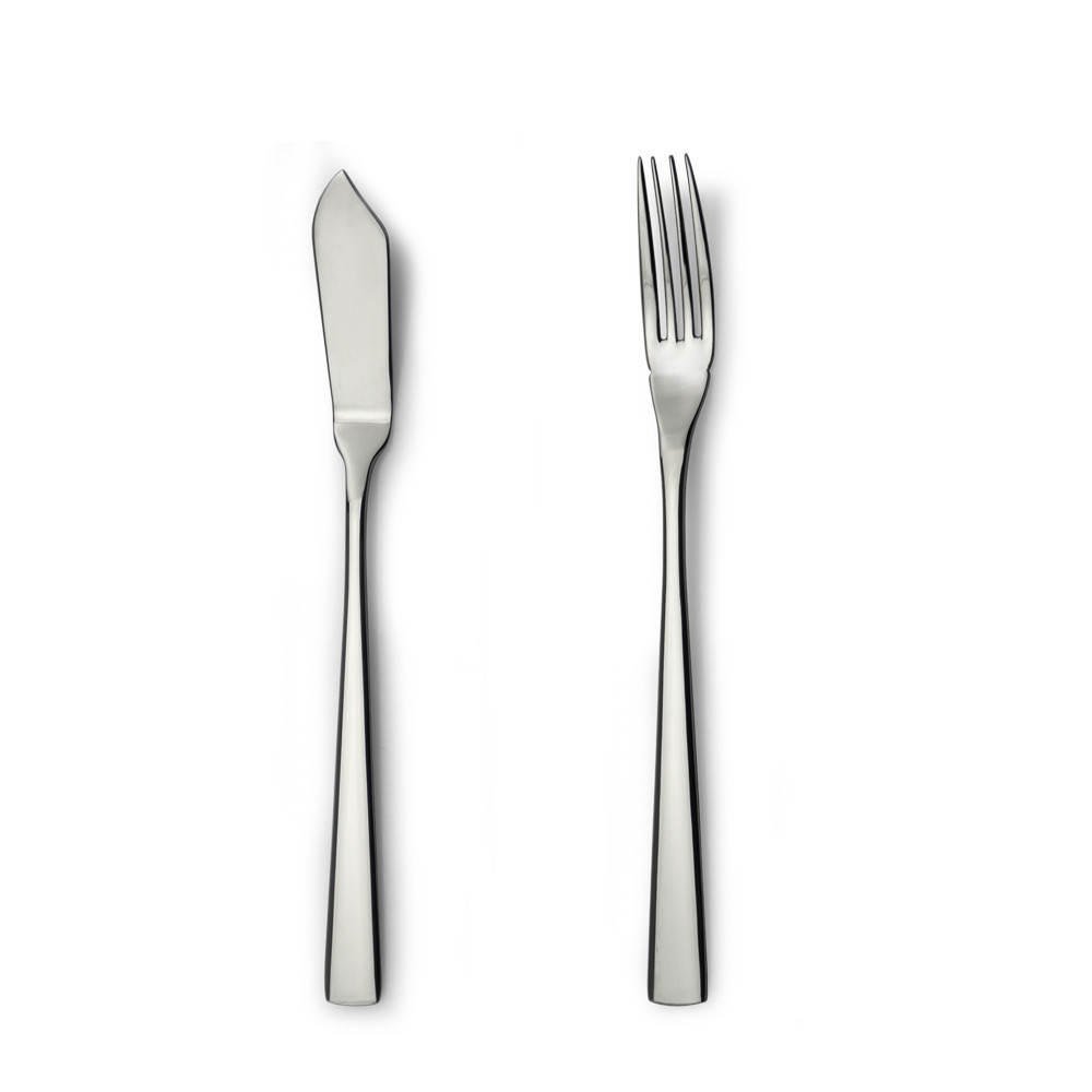 pretty good design stainless steel banquet cutlery set fish knife and fish fork fish set
