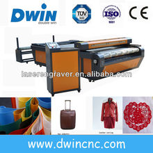 auto feed laser cutting machine for applique best price + high precision DW1626/DW1640
