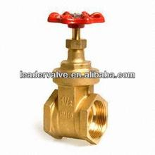 WZLD Wenzhou China Brass high temperature low pressure rising stem gate valve with high quality price list