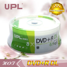 high-capacity blank DVD+R DL 8.5GB