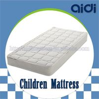 KID-1401 Sleep Well Bonnell Spring Coconut Fiber Palm Baby Cot Mattress For Children Furniture