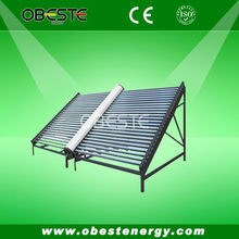 Horizontal Vacuum Tube Solar Water Heater Collector