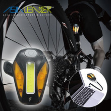 #7 Brightness Modes 3W COB Cycling Bicycle Bike Safety Rear Light