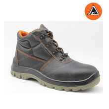 black steel toe anti static action safety shoes ITEM# JZY0302S1