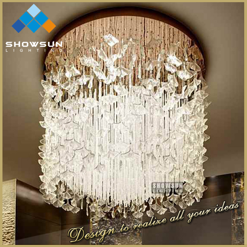 Art deco crystal wedding table centerpieces flower contemporary pendant lighting