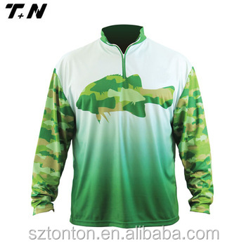 long sleeve vented quick dry Fishing Shirts