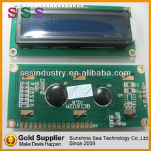 Built-in industry standard HD44780 equivalent LCD controller 16x2 lcd display module