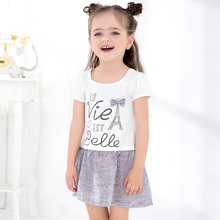 new arrival Summer girl dress 1-7 years old children frocks designs baby frock designs