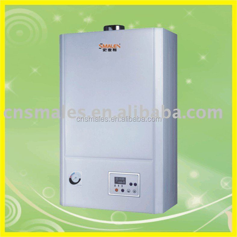 China Foshan Smales CE standard Wall Hung Central Heating Boiler Gas Water Heate r (JLG18-B02C)