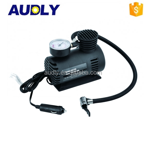 L/C Accepted Mini Air Compressor 250PSI Tyre Inflator Portable Air Pump