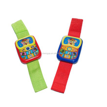 custom preschool baby make sound toy wrist watch for fun