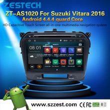Android 4.4.4 A9 chipset central multimedia for Suzuki Grand Vitara china radio with multimidias dvd gps Parking sensor